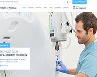 Thiết kế website phòng khám - bệnh viện