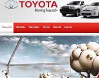 Thiết kế website ô tô