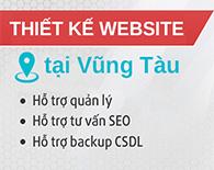 Thiết kế website tại Vũng Tàu