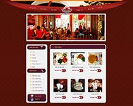 Thiết kế website ẩm thực nhà hàng