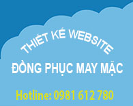 Thiết kế website đồng phục may mặc