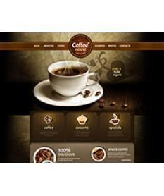 Thiết kế website quán cà phê
