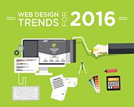Xu hướng thiết kế website mới lạ năm 2016