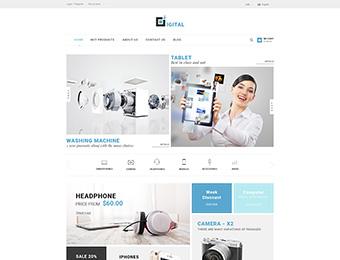 Mẫu website điện tử M001