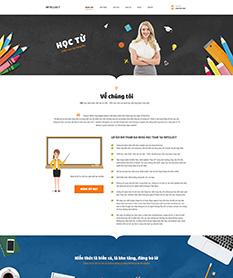 Mẫu thiết kế website trung tâm dạy đồ họa