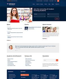Mẫu website giáo dục M001