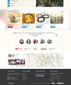 Mẫu thiết kế website trầm hương Khánh Hòa
