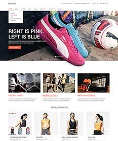 Mẫu website thời trang M007