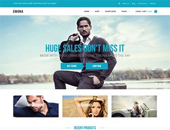 Mẫu website thời trang M003