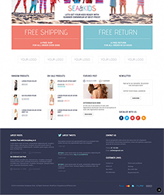 Mẫu website thời trang M004