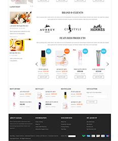 Mẫu website thời trang M005