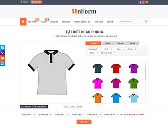 Mẫu website thời trang M002