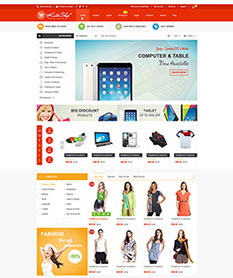 Mẫu website TMĐT KuteShop