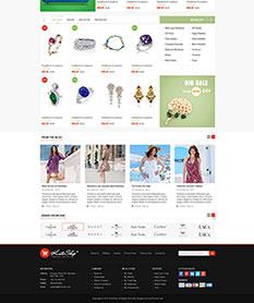 Mẫu website TMĐT KuteShop