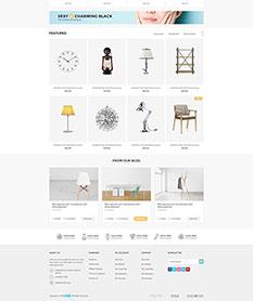 Mẫu website thương mại điện tử Luckyshop