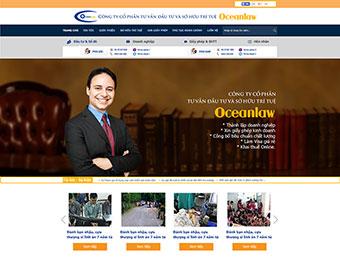 Mẫu thiết kế website công ty luật