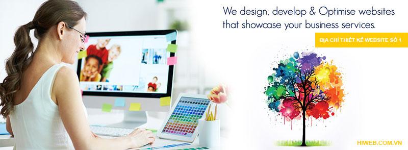 Địa chỉ thiết kế website - HIWEB