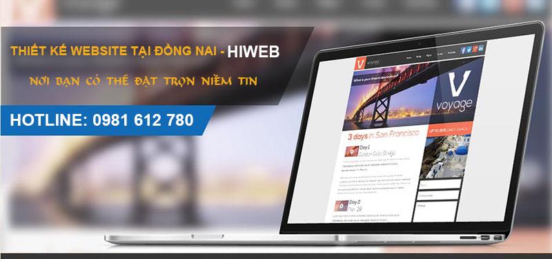 Thiết kế website tại Đồng Nai - HIWEB