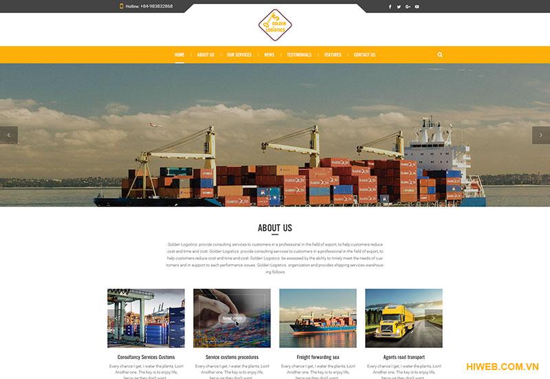 Thiết kế website tin tức - HIWEB