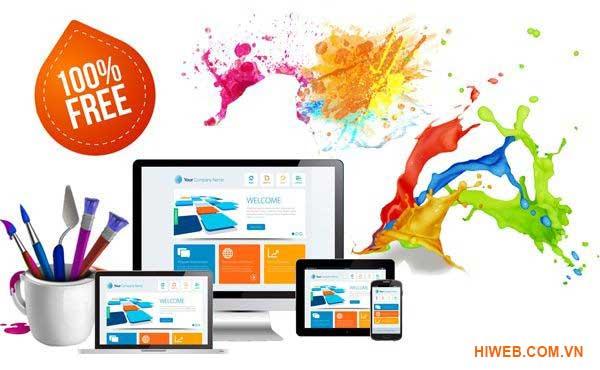 Thiết kế website miễn phí - HIWEB
