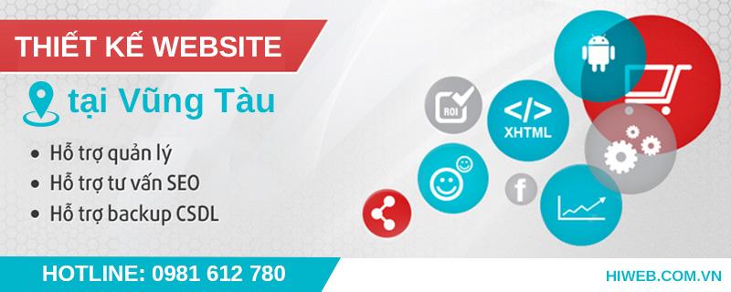 Thiết kế website tại Vũng Tàu - HIWEB