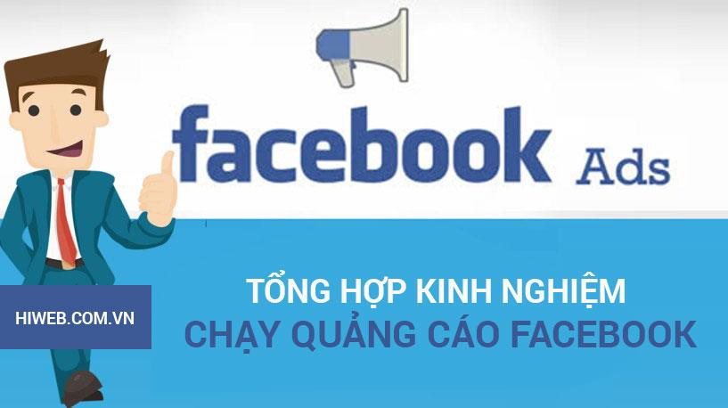 Kinh nghiệm chạy quảng cáo Facebook - HIWEB