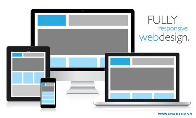 Hiweb CMS được thiết kế responsive