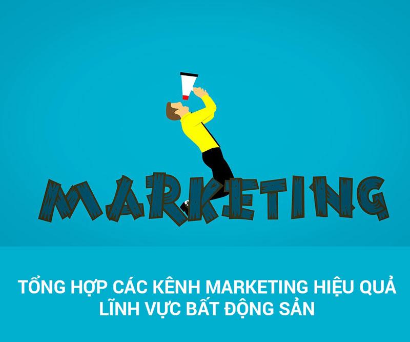 Tổng hợp các Kênh Marketing hiệu quả trong lĩnh vực Bất Động Sản - HIWEB