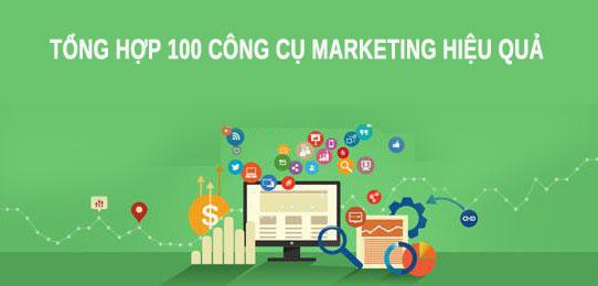 100 công cụ marketing tuyệt vời bạn không nên bỏ qua - HIWEB