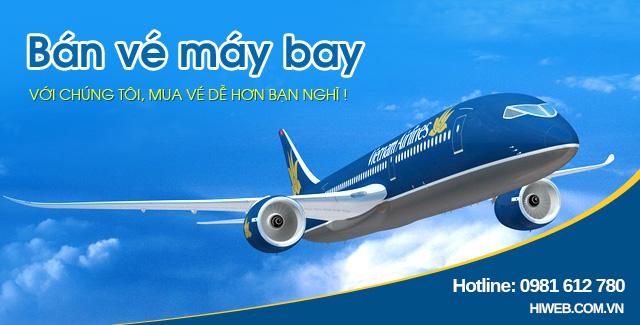 Thiết kế website vé máy bay - HIWEB