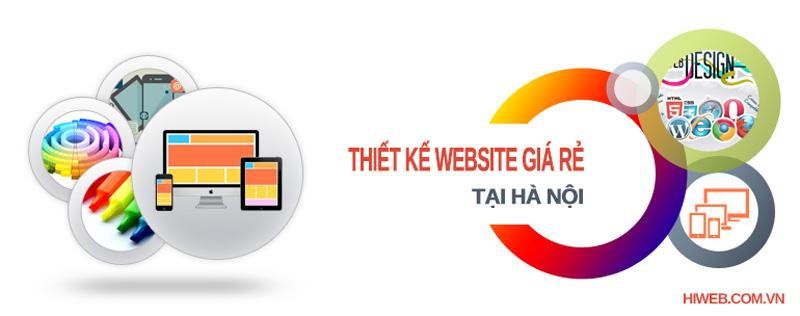 Thiết kế website giá rẻ tại Hà Nôi - HIWEB