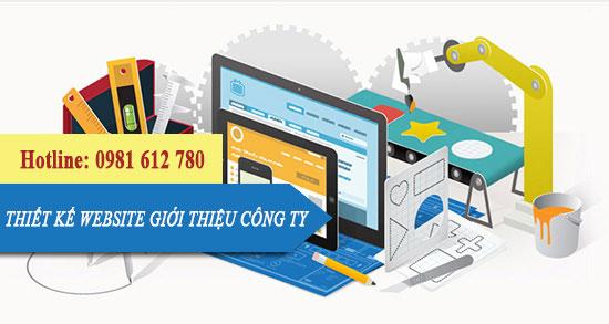 Thiết kế website giới thiệu công ty - HIWEB