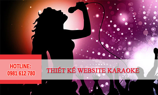 Thiết kế website quán Karaoke - HIWEB