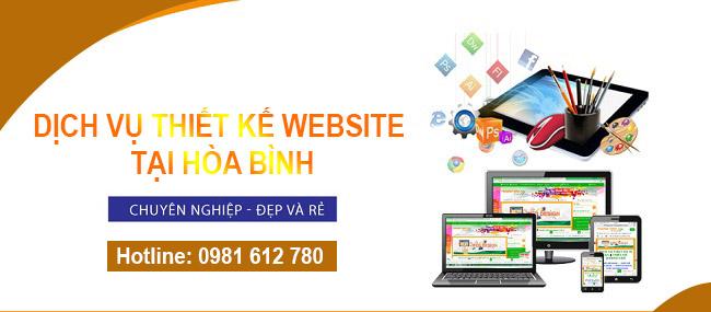 Thiết kế website tại Hòa Bình  - HIWEB