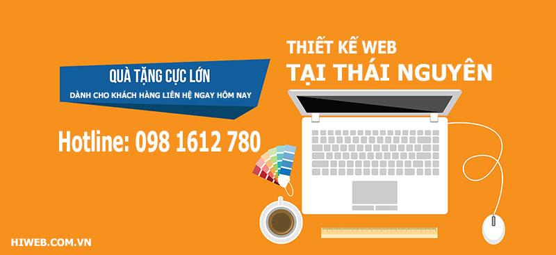Thiết kế website tại Thái Nguyên - HIWEB