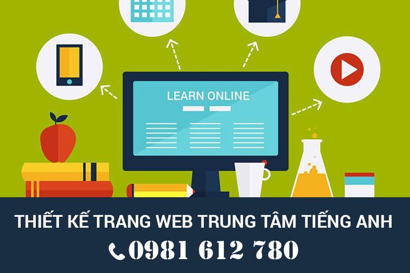 Thiết kế website trung tâm tiếng Anh - HIWEB