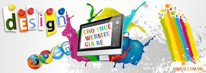 Dịch vụ cho thuê website giá rẻ