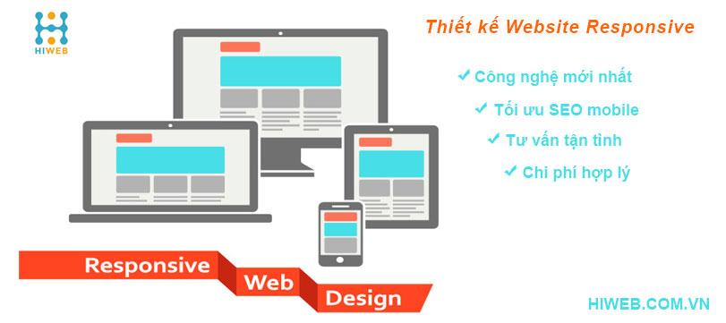 Thiết kế website responsive - HIWEB