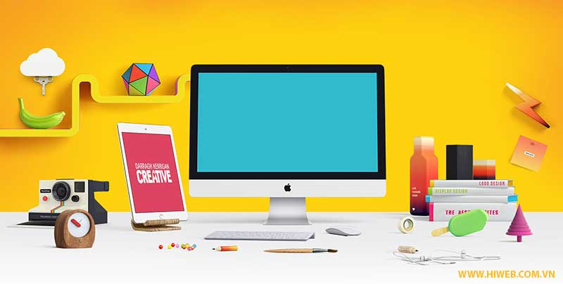Thiết kế website theo yêu cầu - HIWEB